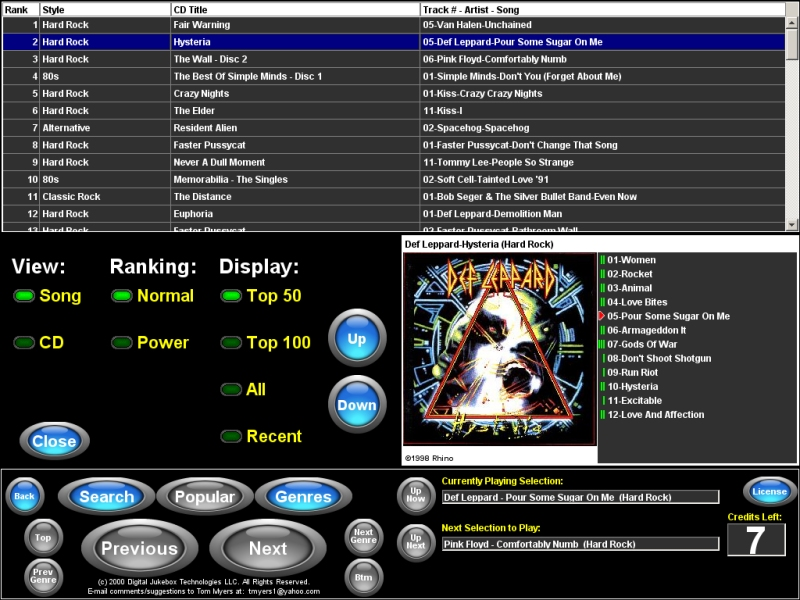 JukeANator Digital Jukebox Software - Commercial Conversion Kits - Sales